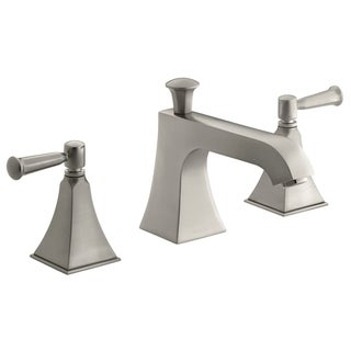 Kohler Memoirs Stately Brushed Nickel Bath or Deck-mount High-flow Faucet Trim with Lever Handles