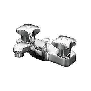 Kohler Triton Centerset Lavatory Faucet with Pop-up Drain and Standard Handles