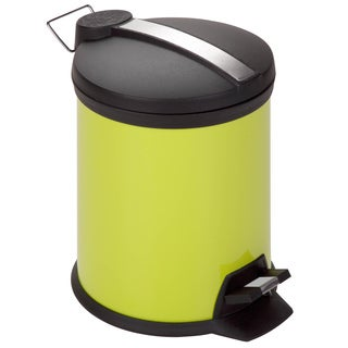 Lime Step 5-liter Trash Can