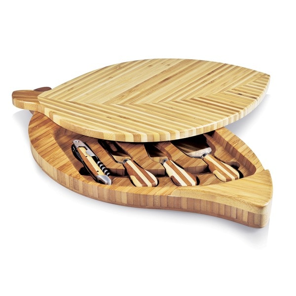 Leaf Bamboo Cutting Board
