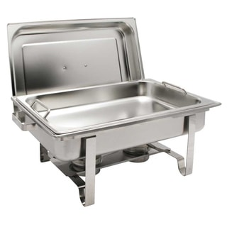 Winco Get-A-Grip 8-quart Rectangular Chafing Dish