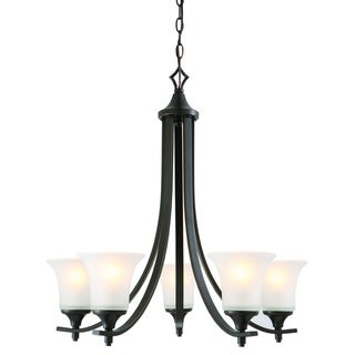 Design House Juneau 5-light Energy Star Oil Rubbed Bronze Chandelier
