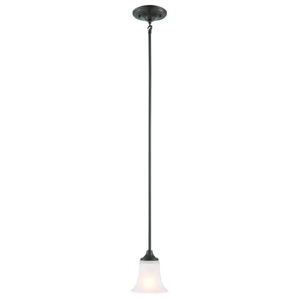 Design House Juneau 1-light Energy Star OIl Rubbed Bronze Mini Pendant