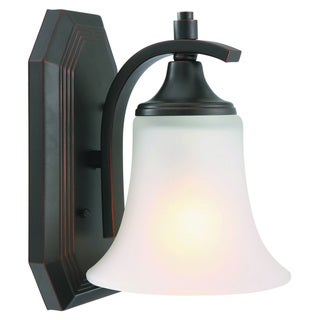 Design House Juneau 1-light Energy Star OIl Rubbed Bronze Wall Sconce