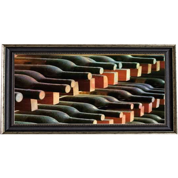 James Gordon 'Wine Cellar I' Framed Art Print