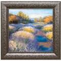 Amanda Houston 'Lavender 2' Framed Art Print