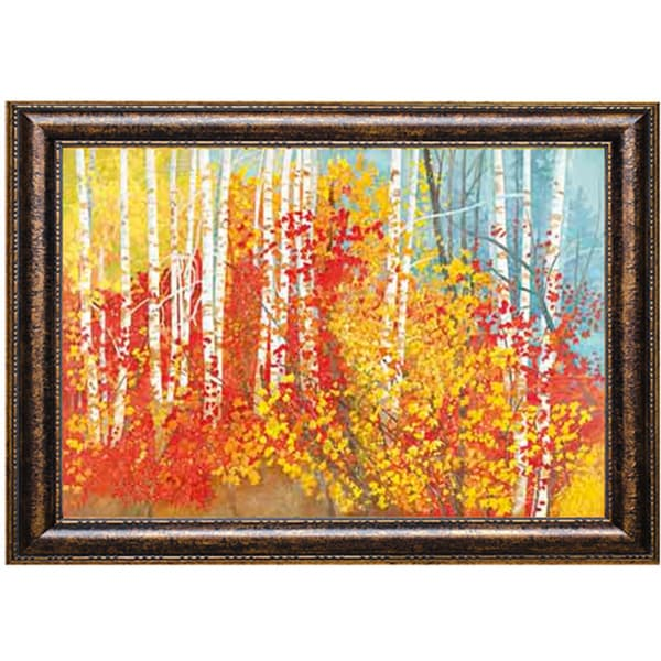 Joan Metcalf 'Glimpse of the River' Framed Art Print