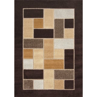 Primavera Brown Area Rug (7'10 x 10'10)