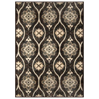 "Bella Casa Casual Gray Indoor/Outdoor Rug (6'6"" x 9'8"")"