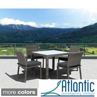 Atlantic Liberty 5-piece Grey Dining Set