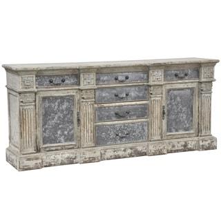 Kosas Home Chael 6-drawer 2-door Black Sideboard
