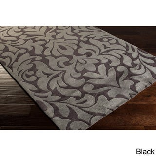 Candice Olson Hand-tufted Modern Classics Damask Rug (2' x 3')