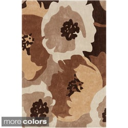 Hand-tufted Spring Contemporary Floral Rug (2' x 3')