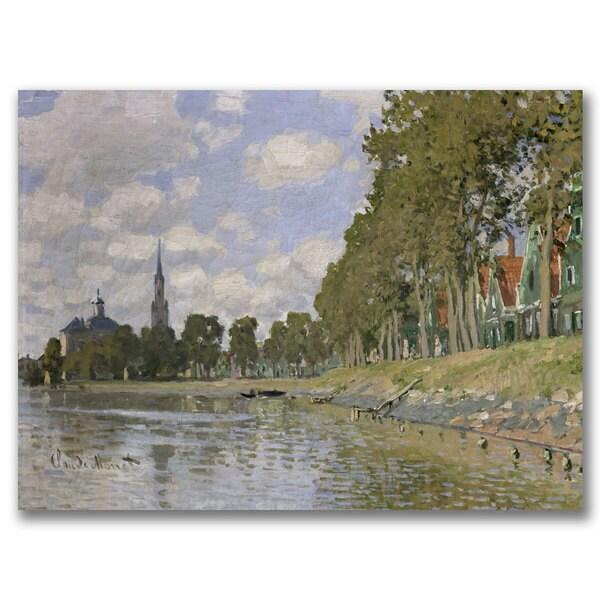 Claude Monet 'Zaandam 1871' Canvas Art