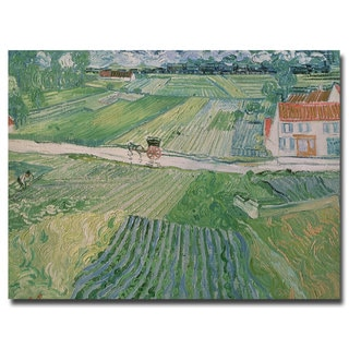Vincent van Gogh 'Avuvers after the Rain 1890' Canvas Art