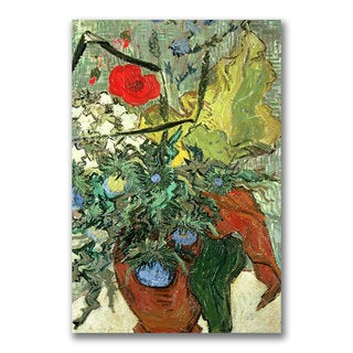 Vincent van Gogh 'Bouquet of Wild Flowers' Canvas Art