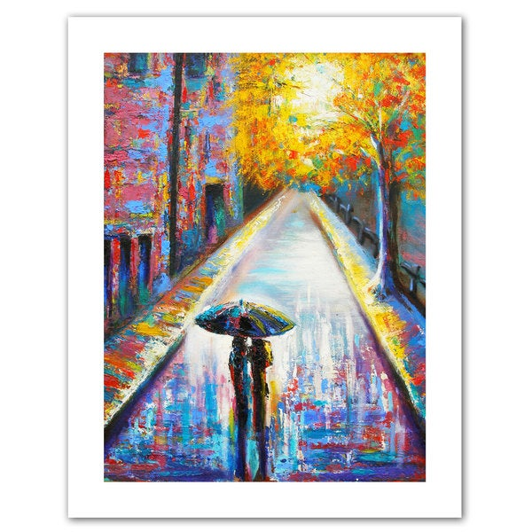 Susi Franco 'Paris Back Street Magic' Unwrapped Canvas
