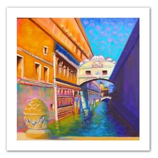 Susi Franco 'Venezia Ponte di Sospiri' Unwrapped Canvas