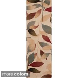 Woven Daisy Floral Rug (3' x 8')