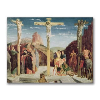 Edgar Degas 'Calvary After by Andre Mantegna' Canvas Art