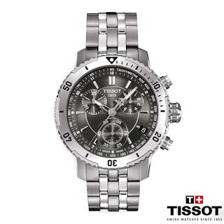 Tissot Men's 'PRS 200' Grey Chronograph Dive Watch