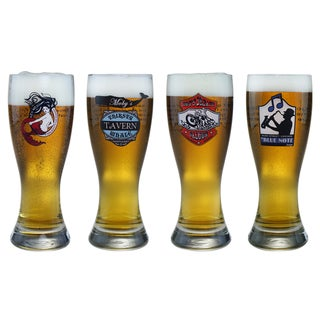 American Tavern Collection 20-ounce Pilsner Beer Glasses