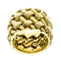 18k Yellow Gold Woven Estate Band