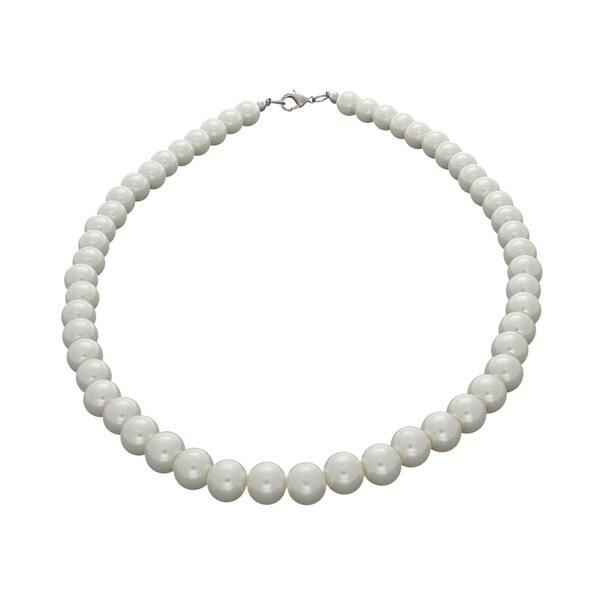 NEXTE Jewelry White Freshwater Pearl Choker (8 mm)