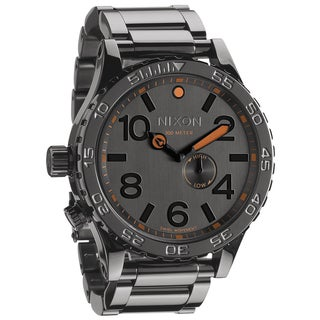 Nixon Men's 51-30 Tide Steel Grey Watch