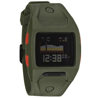 Nixon 'Lodown A530' Green Digital Tide Watch