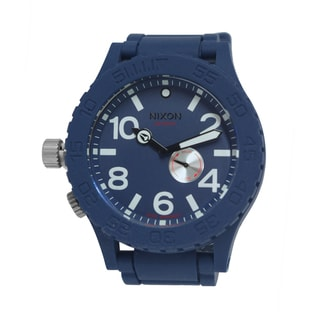 Nixon Men's 51-30 Rubber Strap Navy Watch