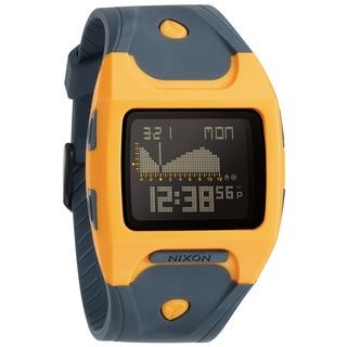 Nixon Men's Lodown Steel Grey Watch