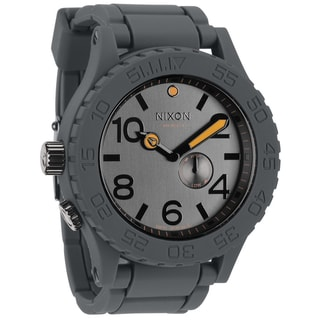 Nixon Men's 51-30 Rubber Strap Grey Watch