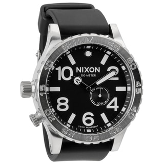 Nixon Men's 51-30 Black Strap Watch