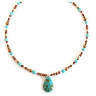 Every Morning Design Turquoise Southwest Morning Necklace