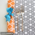 Tracy Sachs Quatrefoil Cotton Napkins (Set of 4)