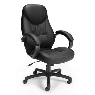 OFM Stimulus Series Leatherette Executive High Back Chair