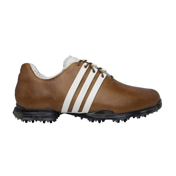 Adidas Men's Adipure Hickory/ White Golf Shoes