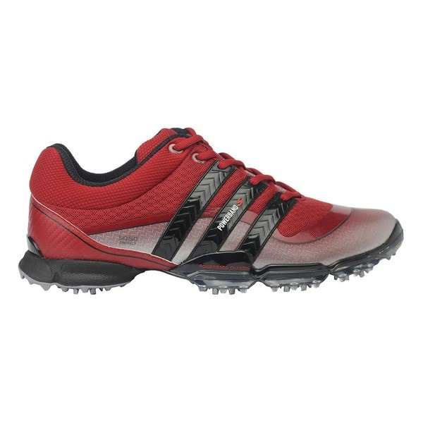 Adidas Men's Powerband 3.0 Sport Limited Edition Red Golf Shoes