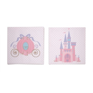 Disney Princess 2-piece Baby Canvas Art Set