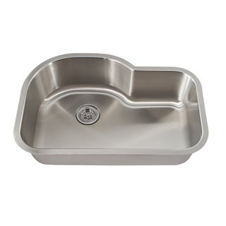 Schon Undermount 18-gauge Stainless Steel Single Bowl Kitchen Sink