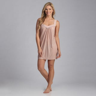 Jessica Simpson Women's 'Lulu' Rose Dust Chemise