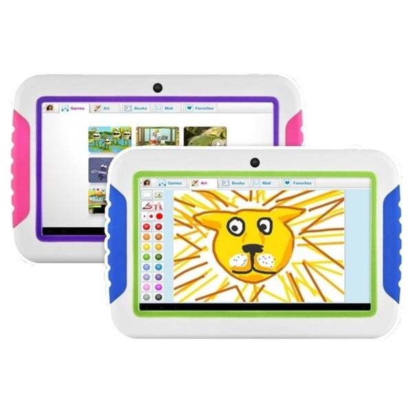 "Ematic FunTab 7"" Multi-Touch Screen Tablet with Android 4.0"
