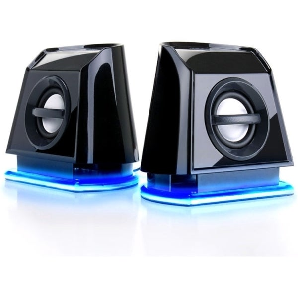 GOgroove Professional GG-BASSPULSE-2MX 2.0 Speaker System - 4.8 W RMS