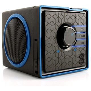 GOgroove SonaVERSE GG-SONAVERSE-BX Speaker System - 6 W RMS - Black