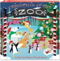 Christmas at the Zoo: A Pop-Up Winter Wonderland (Hardcover)