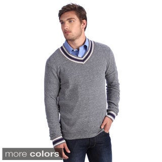 Alternative Apparel Men's Eco-cashmere V-Neck Sweatshirt
