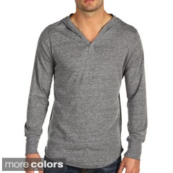Alternative Apparel Men's Eco-Heather Pullover Hooded Sweatshirt