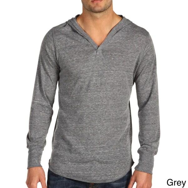 Alternative Apparel Men's Eco-Heather Pullover Hooded Sweatshirt