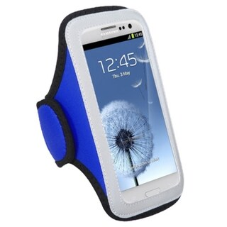 INSTEN Dark Blue Armband for Samsung Galaxy S III/ S3 i9300